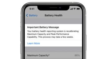 iOS 14.5 traz ferramenta para recalibração de bateria no iPhone 11