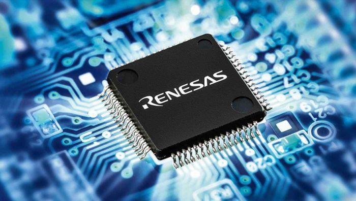Chip da Renesas Electronics
