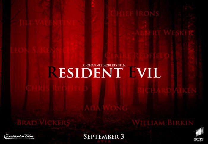 Pôster do novo filme de Resident Evil (Imagem: Reprodução)