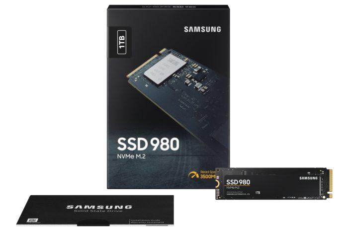 SSD 980 NVMe (imagem: divulgação/Samsung)