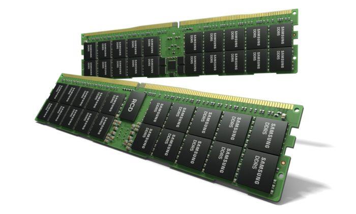 Módulo DDR5 de 512 GB (imagem: divulgação/Samsung)