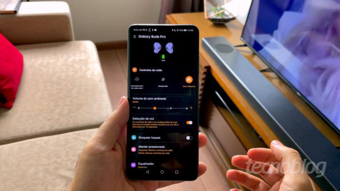 Samsung Galaxy Buds Pro (Imagem: Paulo Higa/Tecnoblog)