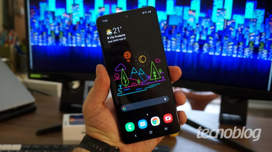 Samsung Galaxy M51 (Imagem: André Fogaça/Tecnoblog)