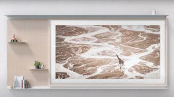 Samsung revela nova The Frame, TV que vira quadro (e agora estante)