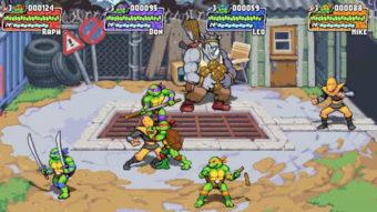 Tartarugas Ninja ganham novo game inspirado nos fliperamas dos anos 90