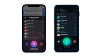 Telegram expande chats de voz com participantes ilimitados e gravação