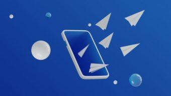 Como apagar mensagens e mídias no Telegram