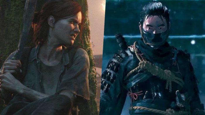 The Last of Us Part 2 e Ghost of Tsushima estão em promoção (Imagem: Reprodução)