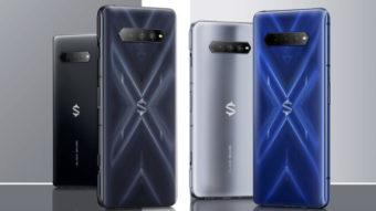 Xiaomi Black Shark 4 com carregador de 120 W enche bateria em 15 minutos