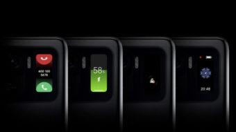 Xiaomi Mi 11 Ultra usa mesma tela da Mi Band 5 na traseira