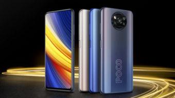 Xiaomi lança Poco X3 Pro com Snapdragon 860 e câmera de 48 MP