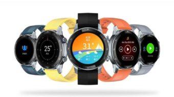 ZTE Watch GT é um smartwatch leve e barato com tela AMOLED