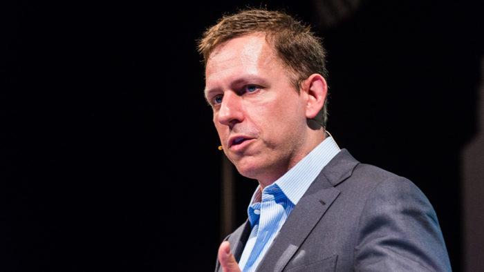 """Peter Thiel, cofundador do PayPal e investidor bilionário, afirma que bitcoin pode ser """"arma financeira chinesa"""" (Imagem: Heisenberg Media/Flickr)"""