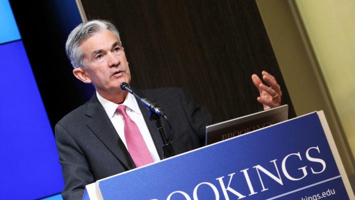 Presidente do Federal Reserve, Jerome Powell compara criptomoedas ao ouro (Imagem: Brookings Institution/ Flickr)