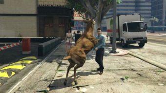 Como virar um animal no GTA 5