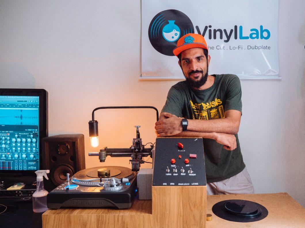 Giordano Bruno, da Vinyl Lab (Imagem: Acervo Pessoal)