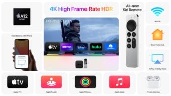 Apple TV 4K ganha processador A12 e novo controle remoto
