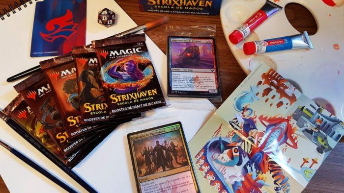 Strixhaven traz novas mecânicas ao Magic: The Gathering (Imagem: Divulgação/Wizards of the Coast)