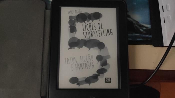 Como colocar um livro como descanso de tela no Kindle (Imagem: Leandro Kovacs/Tecnoblog)