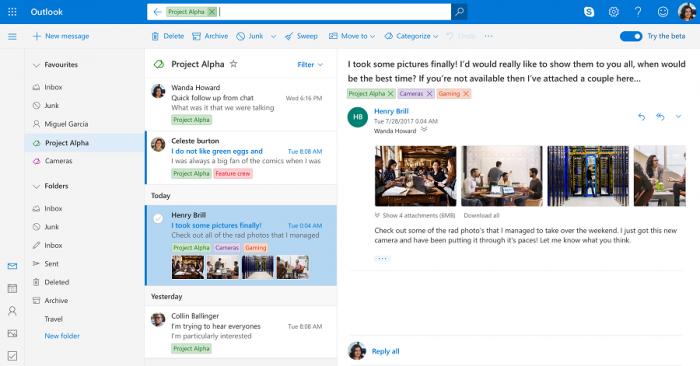 Como configurar um e-mail no Outlook do Android (Imagem: Microsoft/Divulgação)