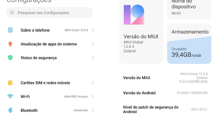 Android é mais rápido quando atualizado (Imagem: Leandro Kovacs/Reprodução)