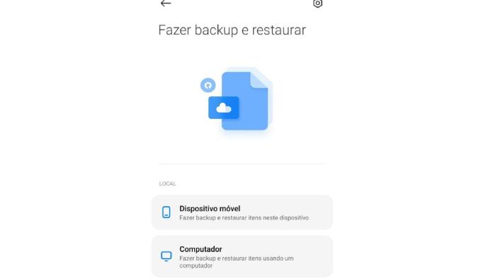 Backup no computador é mais seguro (Imagem: Leandro Kovacs/Reprodução)