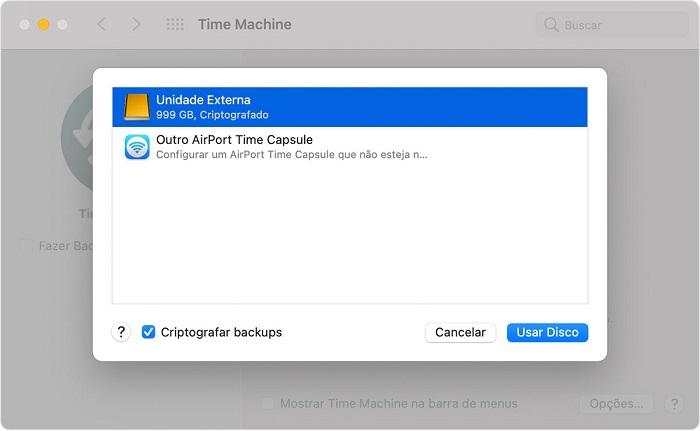 Como fazer backup do Mac em vários discos no Time Machine (Imagem: Apple/Divulgação)