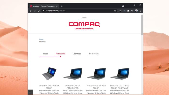 Positivo passa a produzir e comercializar computadores da Compaq no Brasil (Imagem: Reprodução/Tecnoblog)