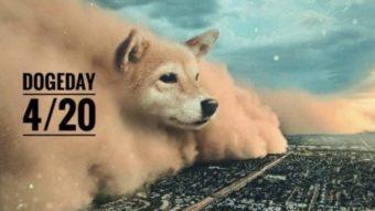 Doge Day tenta levar dogecoin a US$ 1, mas preço da moeda cai