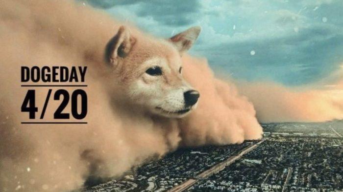 """Apoiadores do dogecoin promovem """"Doge Day"""" para fazer criptomoeda atingir novos recordes (Imagem: Reprodução Twitter)"""