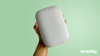 Google Nest Audio: som alto com Google Assistente