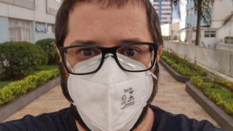 Câmera frontal no modo retrato (Imagem: André Fogaça/Tecnoblog)