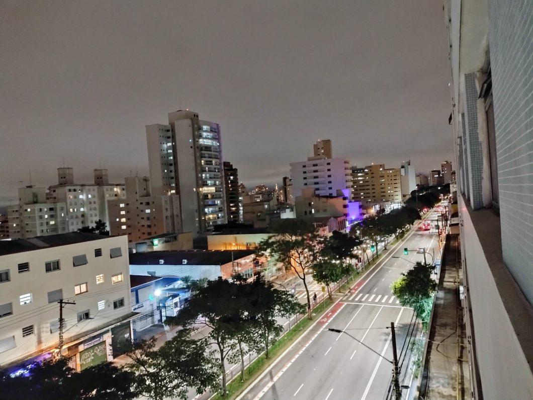 Câmera principal no modo noturno (Imagem: André Fogaça/Tecnoblog)