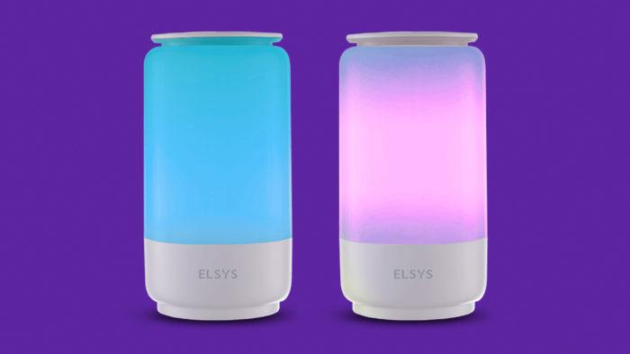 Luminária inteligente Elsys (Imagem: Divulgação/Elsys)
