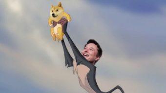 Dogecoin sobe 200% em 24 horas após tweet de Elon Musk