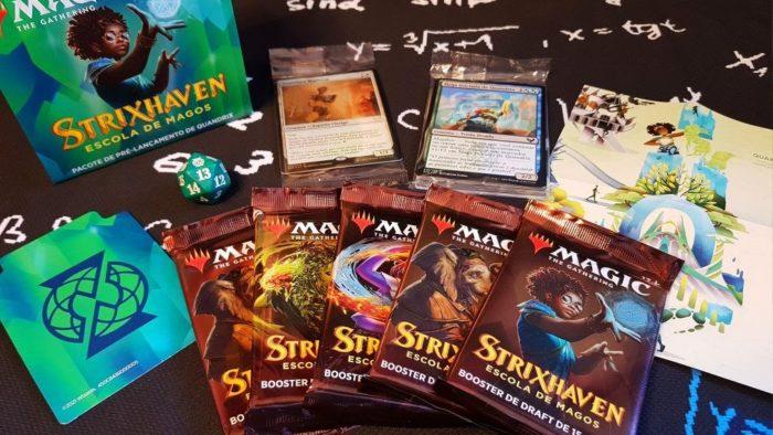 Coleção Strixhaven de Magic: The Gathering (Imagem: Divulgação/Wizards of the Coast)