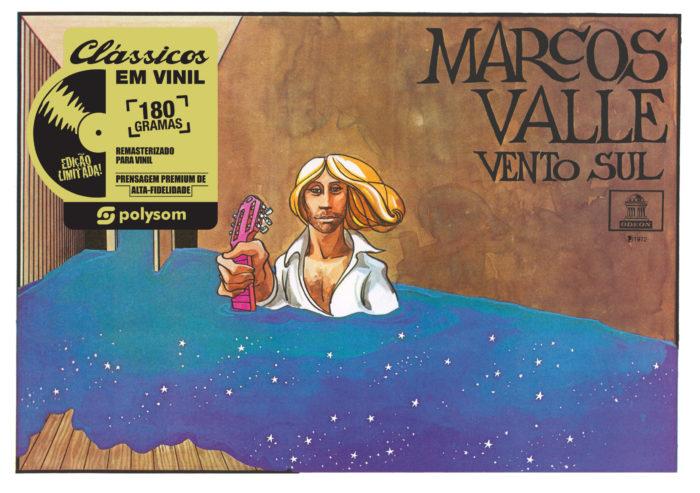 Capa de Marcos Valle - Vento Sul (Imagem: Polysom)