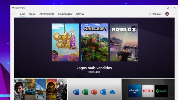 Microsoft Store (Imagem: Reprodução/Microsoft)