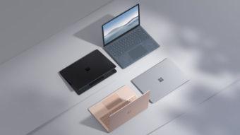 Microsoft Surface Laptop 4 é lançado em modelos com Intel e AMD Ryzen