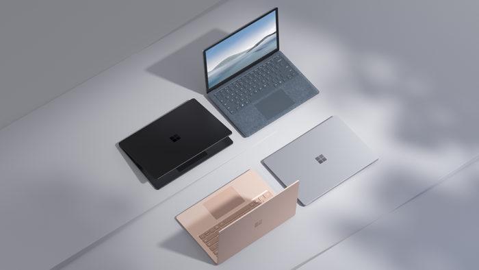 Microsoft Surface Laptop 4 (Imagem: Divulgação/Microsoft)