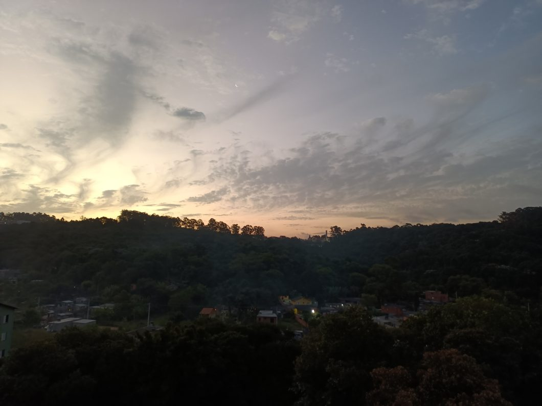 Photo taken with the Realme 7 5G main camera + Night mode (Image: Darlan Helder / Tecnoblog)