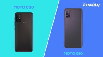 Comparativo: Moto G30 ou Moto G10; qual é a diferença?