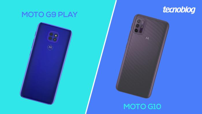 Moto G9 Play ou Moto G10 (Imagem: Vitor Pádua/Tecnoblog)