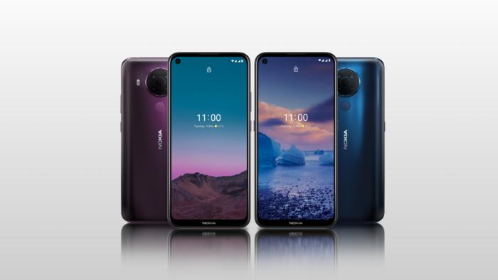 Nokia 5.4 (Imagem: Divulgação/HMD Global)