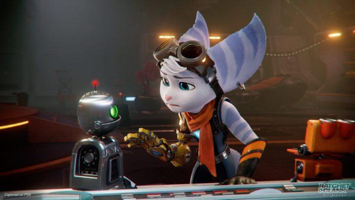 Rivet, de Ratchet & Clank: Rift Apart (Imagem: Divulgação/Sony)