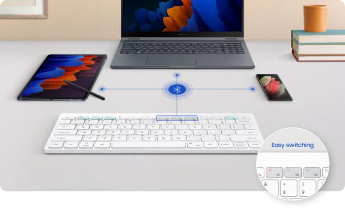 Samsung Smart Keyboard Trio 500 (Imagem: divulgação/Samsung)