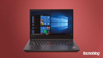 Notebook Lenovo ThinkPad E14: um clássico moderno