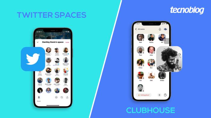 Twitter Spaces vs Clubhouse; qual deles usar? (Imagem: Vitor Pádua/Tecnoblog)
