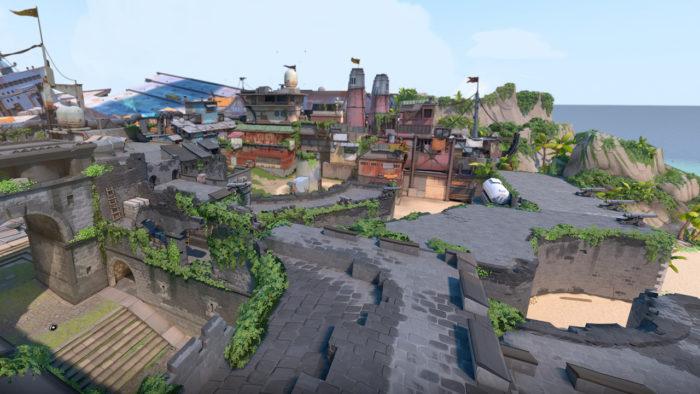 Breeze é o novo mapa de Valorant (Imagem: Divulgação/Riot Games)