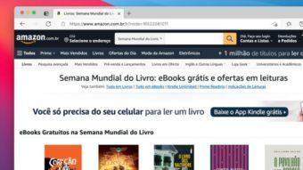 Amazon libera 12 livros grátis de Kindle em português por tempo limitado